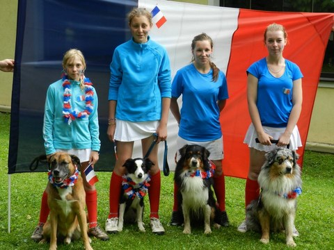 EUROPEAN OPEN JUNIORS 2012 EN AUTRICHE : COMPÉTITION INTERNATIONALE